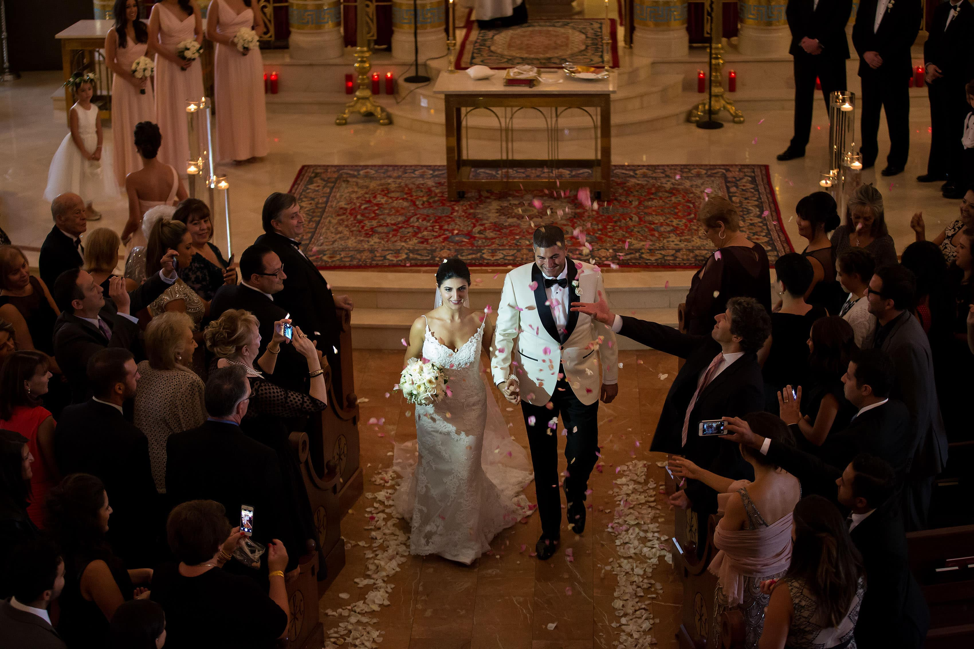 Denver Greek Grand Hyatt wedding