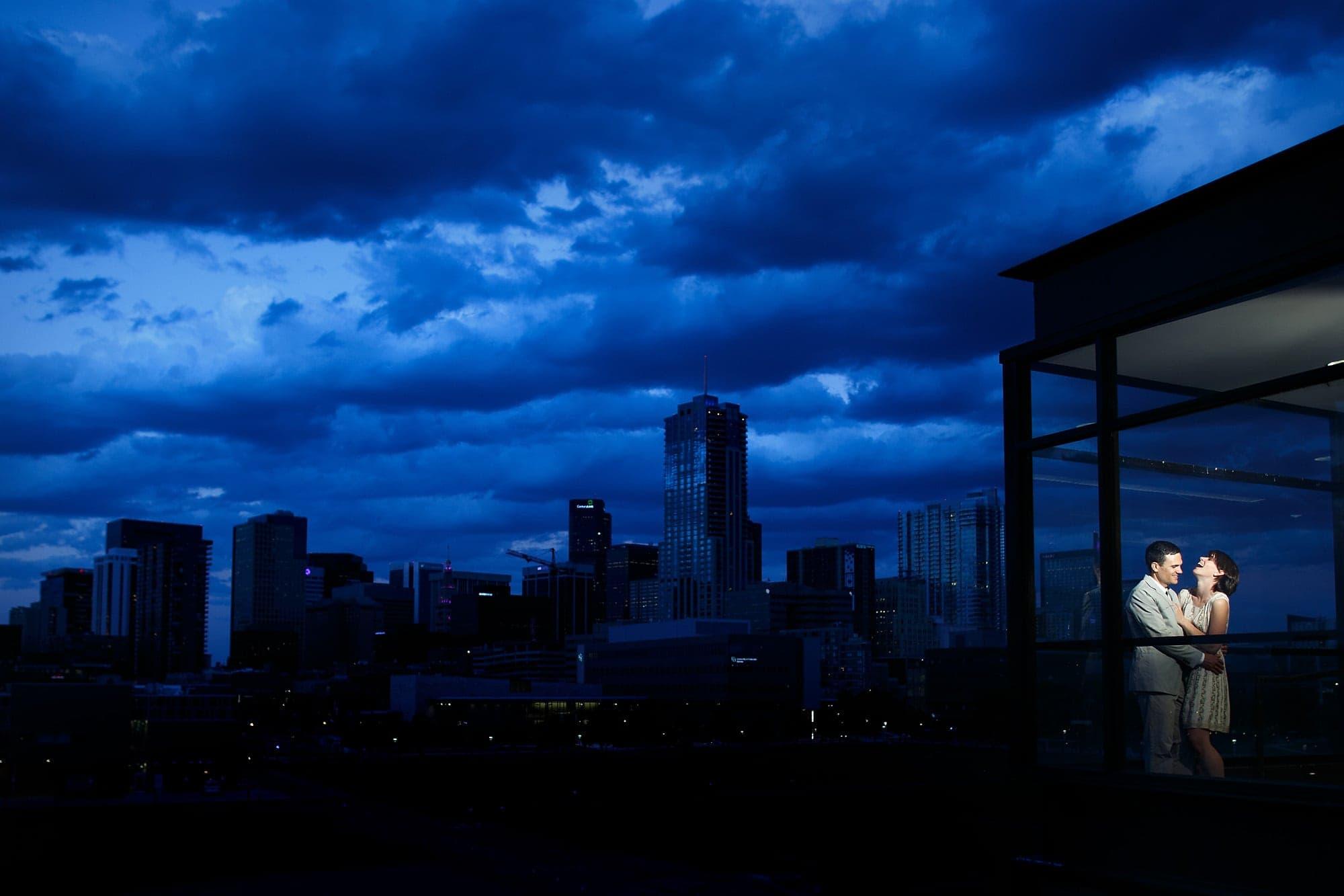 Downtown Denver engagement | Amanda & Cuyler