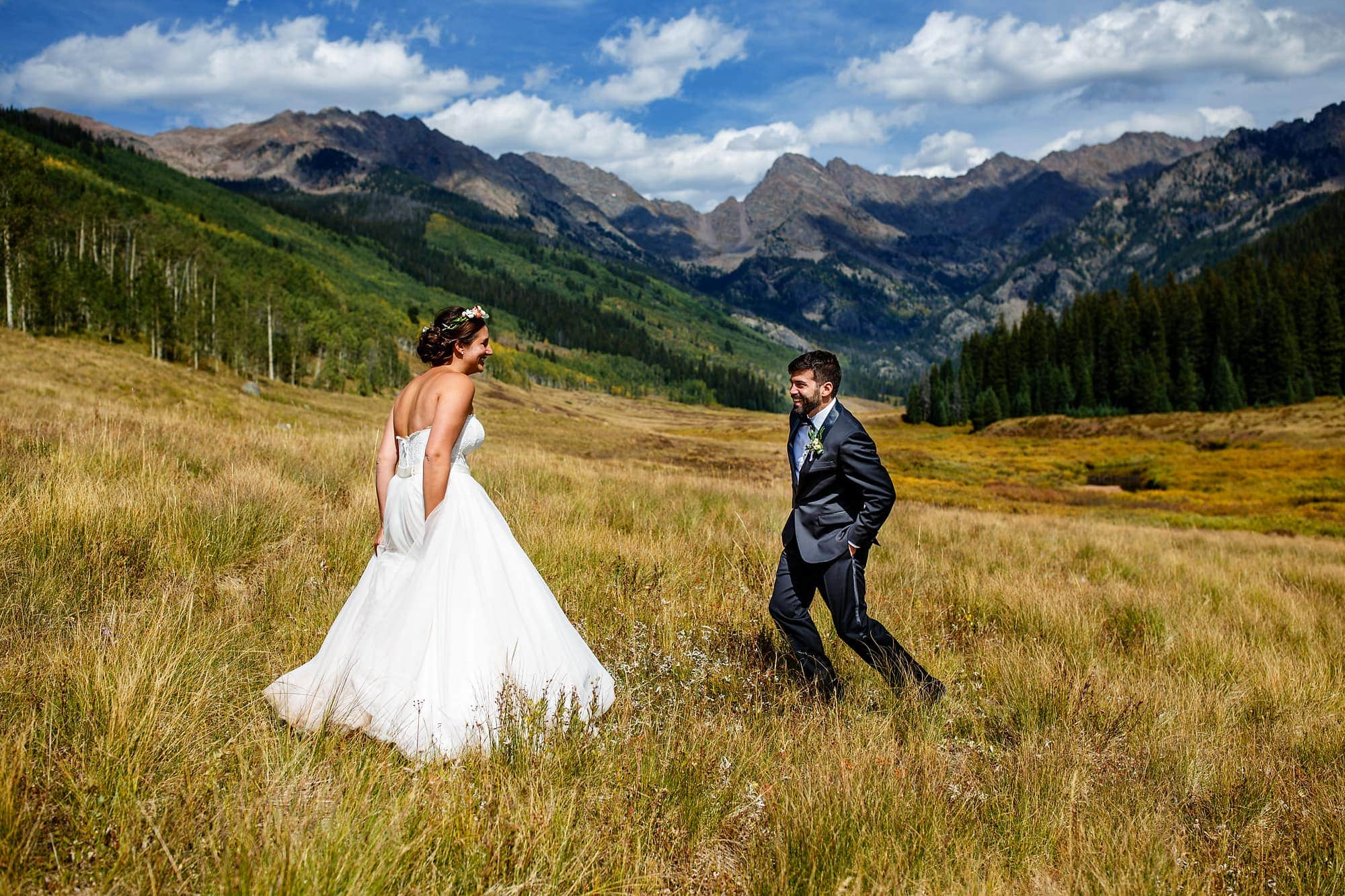 Piney River Ranch wedding   Vail, CO   Becky and Brian
