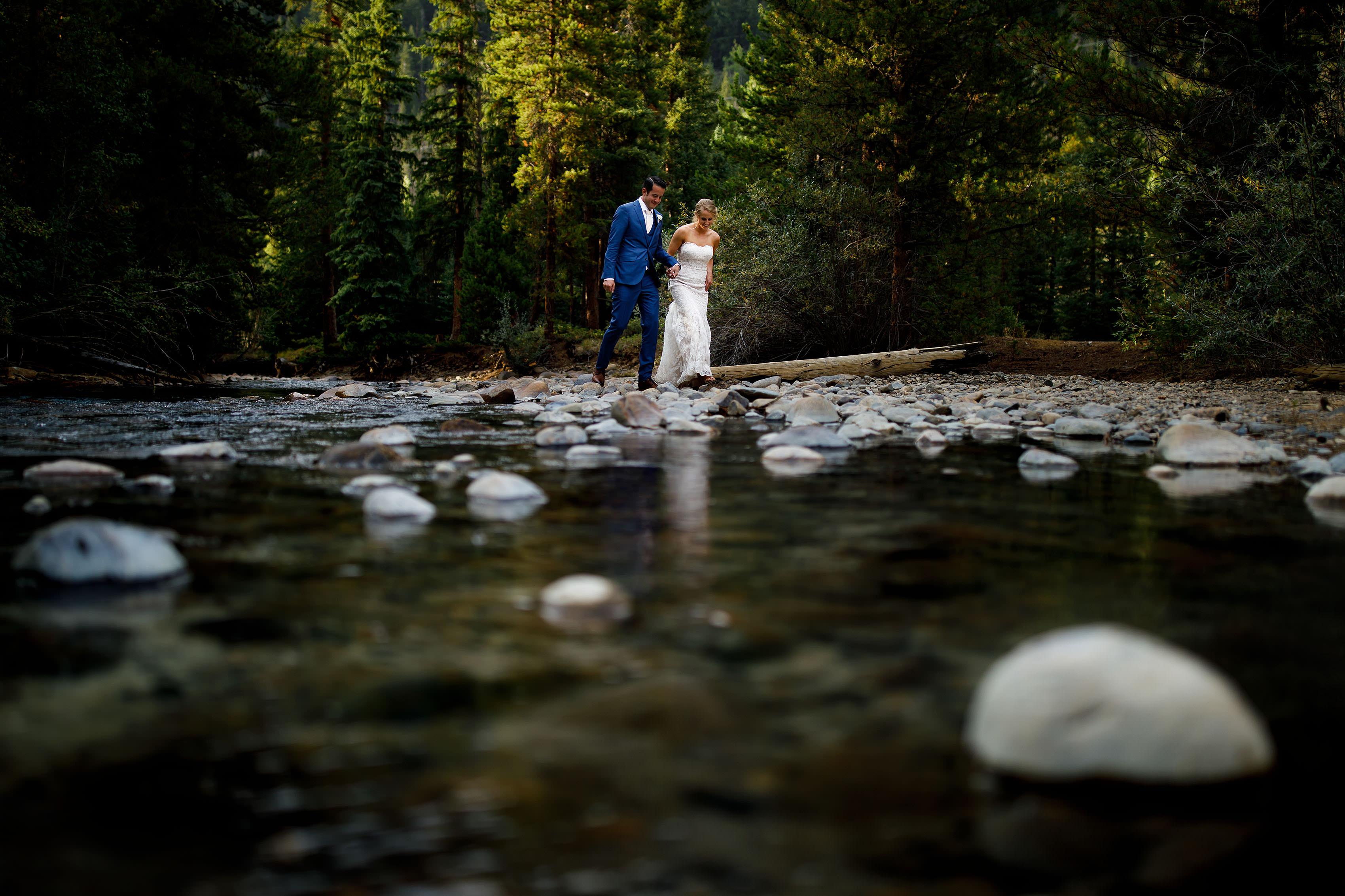 Laura & Mack's Wedding in Keystone