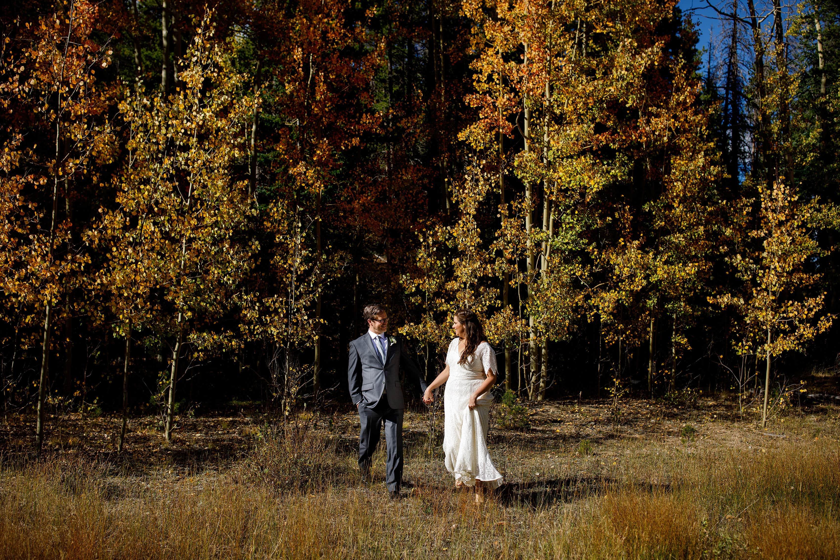 Fall Blackstone Rivers Ranch Wedding   Kate & Brian