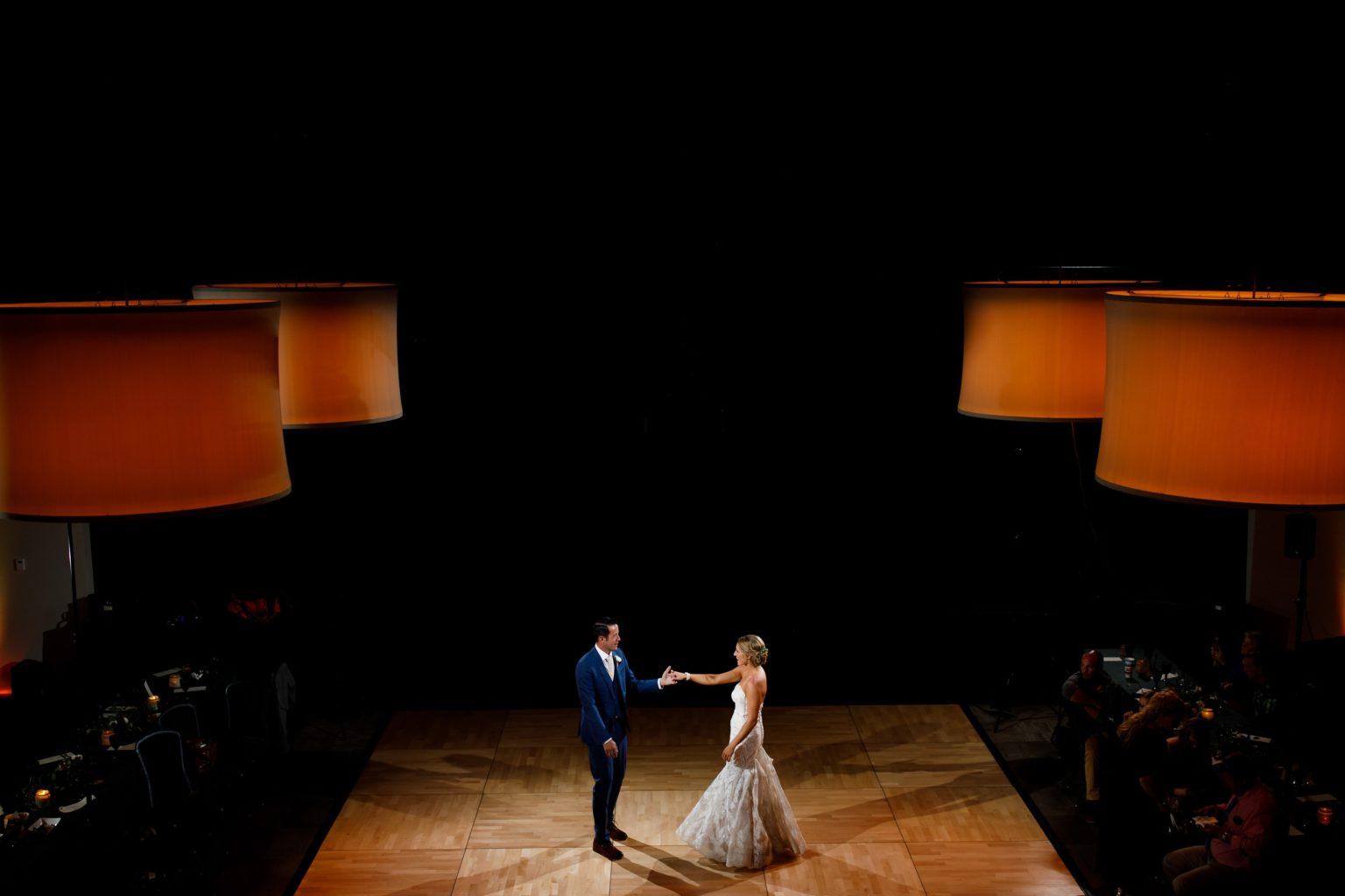 Warren Station wedding first dance