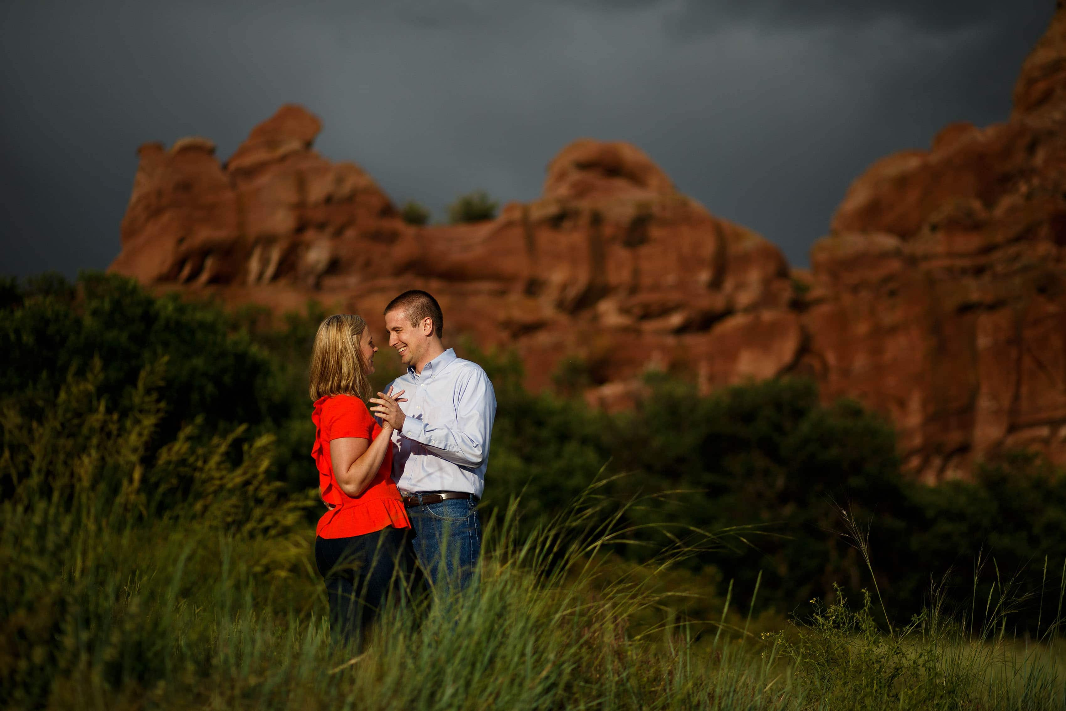 Roxborough State Park Engagement | Emily and Ross