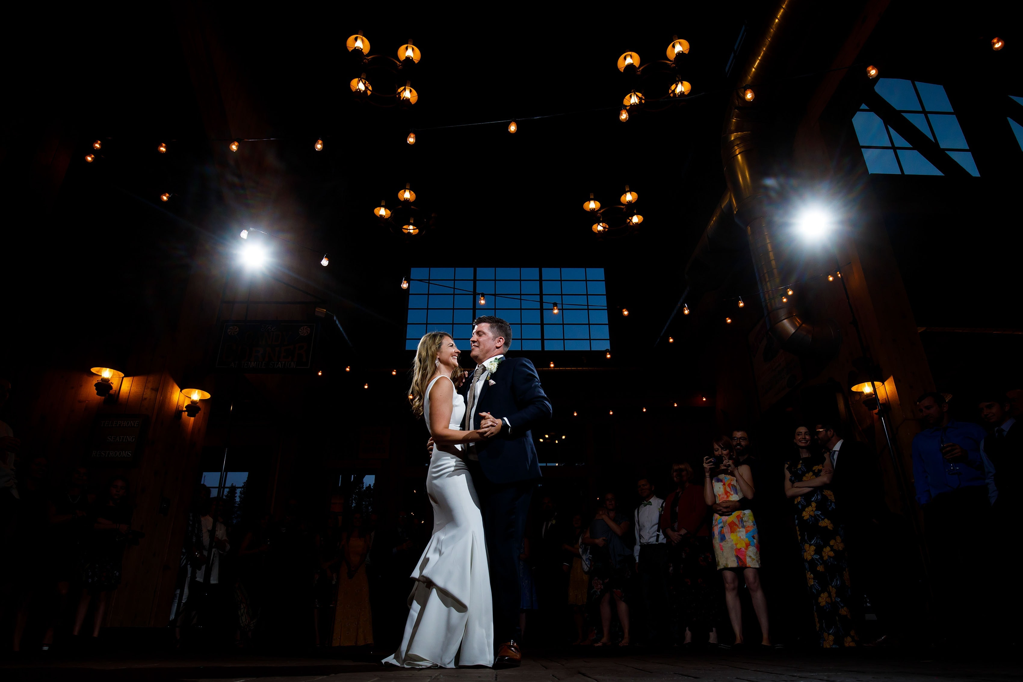 First dance at TenMile Station