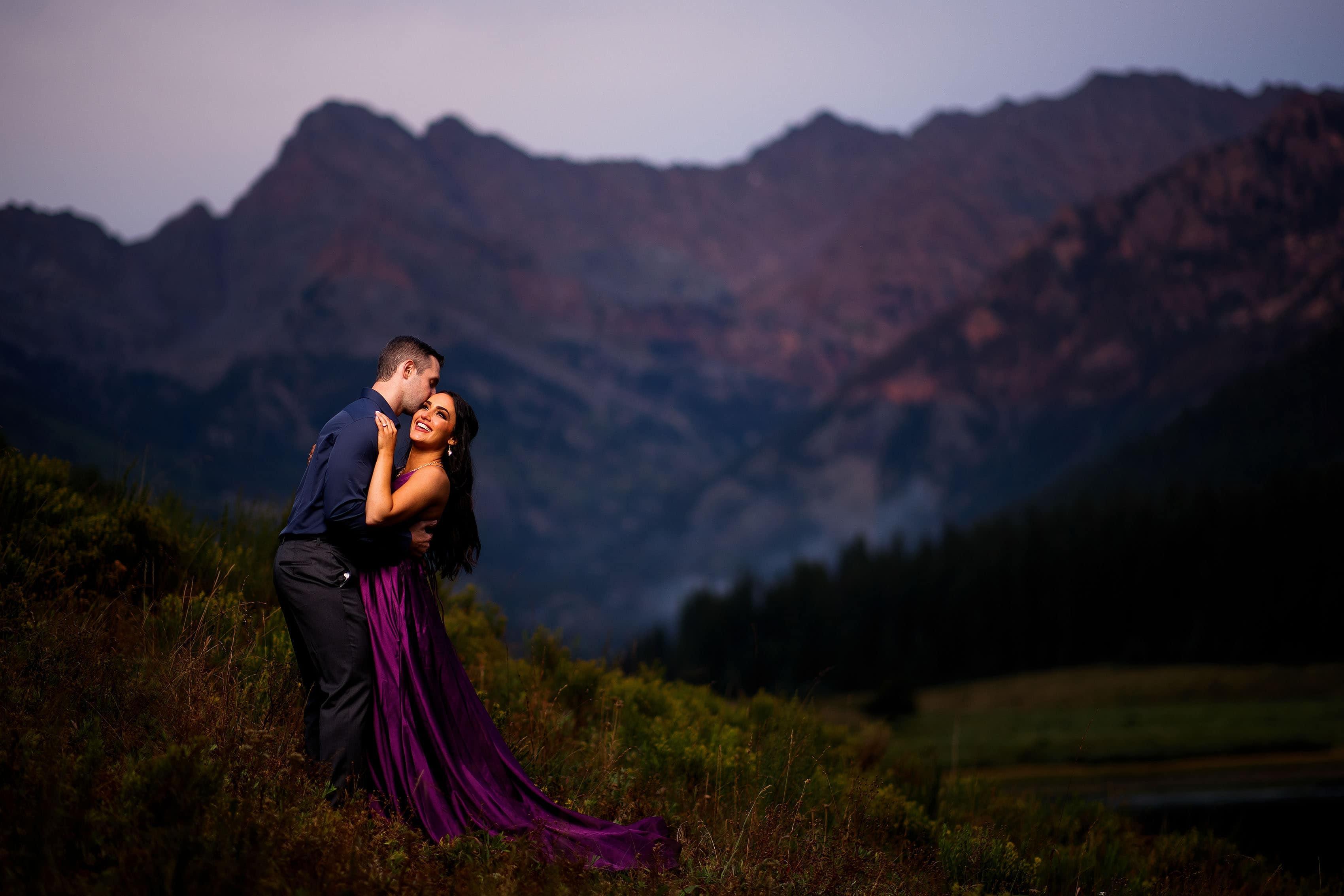 Glamorous Mountain Engagement | Maggie & Dan
