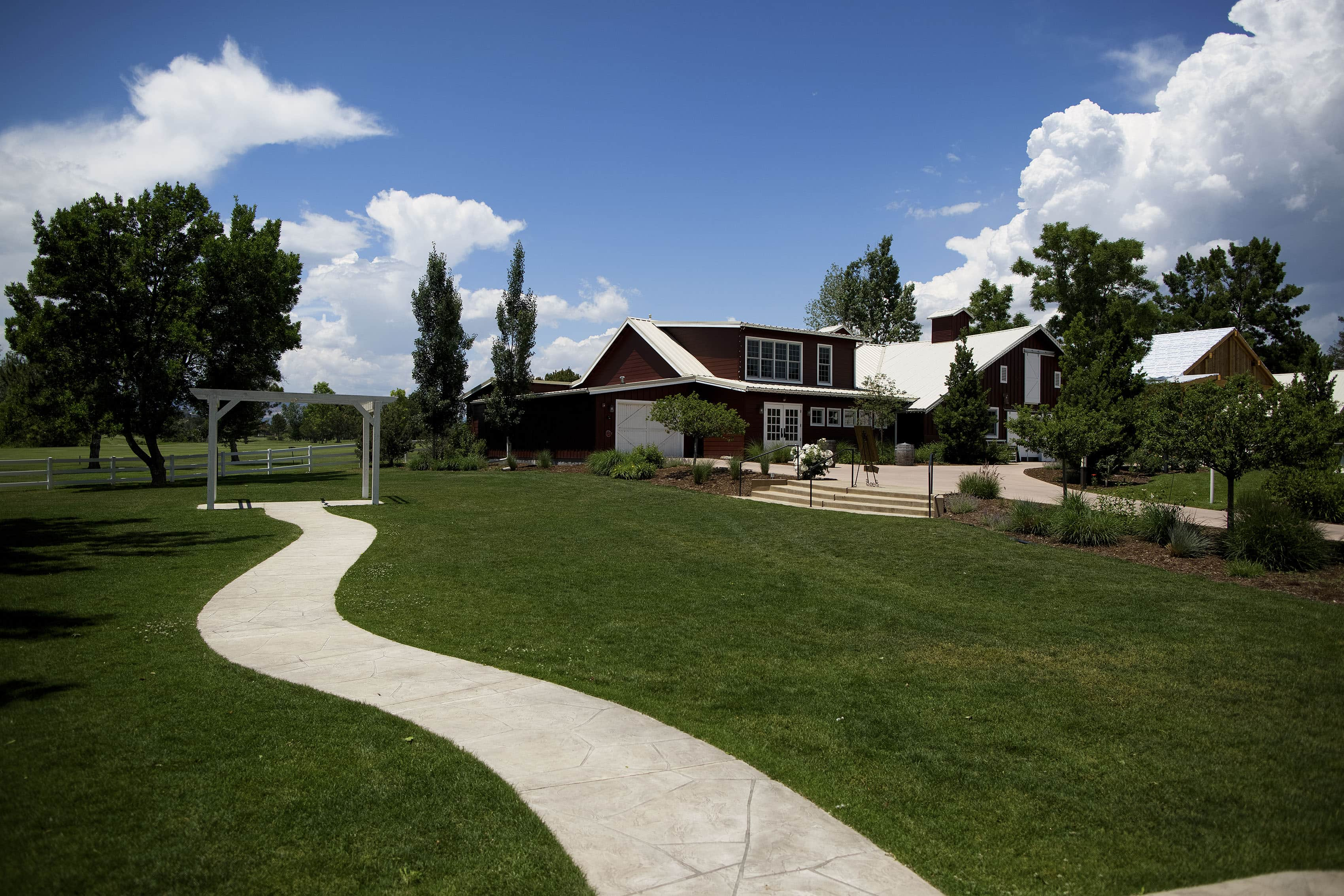 The Barn at Raccoon Creek wedding venue