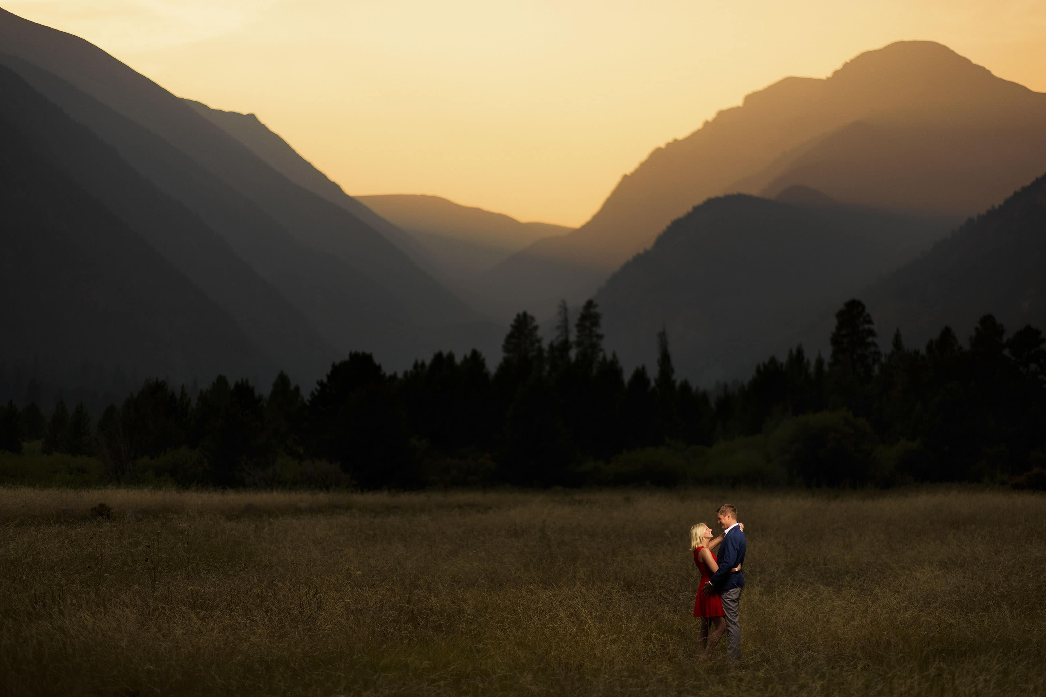 Sunset National Park Engagement   Beth & Riley
